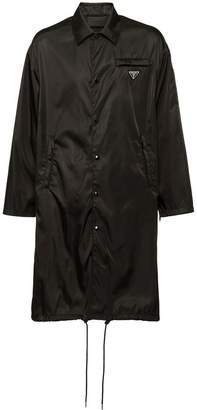 Prada Nylon gabardine raincoat