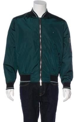 Christian Dior 2017 Lightweight Utility Bomber Jacket