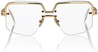 Celine Women's Oversized Square Sunglasses - Gold - Transparent Pink