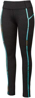 Colosseum Realtree Camouflage Women Teal Ankle Length Leggings (XL)