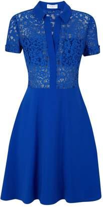 Claudie Pierlot Lace Button-Up Dress