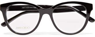 Jimmy Choo Acetate Optical Glasses - Black