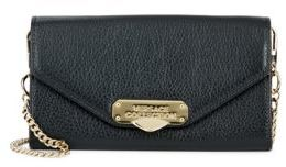Versace Convertible Leather Clutch