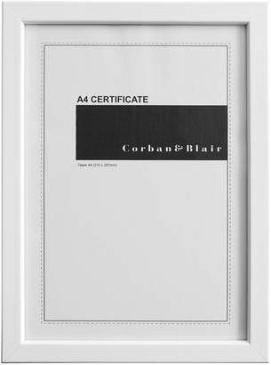 Corban & Blair Thin Profile Frame, A4, White