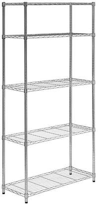 Honey-Can-Do Five-Tier Steel Shelving Unit