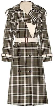 Burberry Eastleigh reversible trench coat