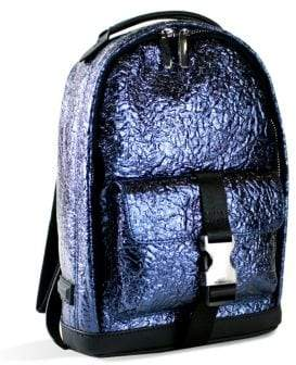 KENDALL + KYLIE Atlas Mini Metallic Backpack