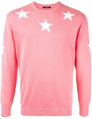 GUILD PRIME star embroidered sweater