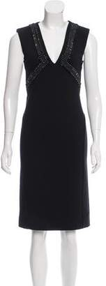Amen Embellished Sheath Dress w/ Tags