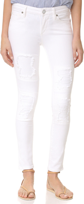 True Religion Halle Super Skinny Crop Jeans $219 thestylecure.com