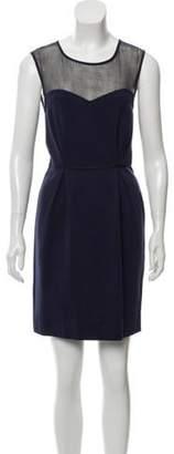 Stella McCartney Sleeveless Mini Dress Navy Sleeveless Mini Dress