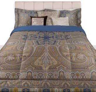 Etro Cinisi Quilted Bedspread - 270x270cm - Indigo