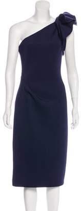 Jovani One-Shoulder Midi Dress