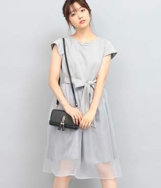 ViS (ビス) - ビス 【WEDDINGS&PARTIES】ネックレス付きシアースカートドレス