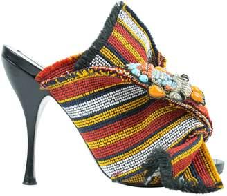 N°21 Cloth Heels