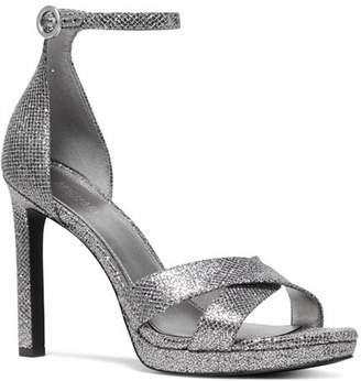 601617016b5 MICHAEL Michael Kors Women s Alexia Metallic High-Heel Sandals