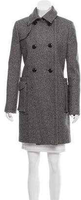 Christian Dior Virgin Wool Double-Breasted Coat