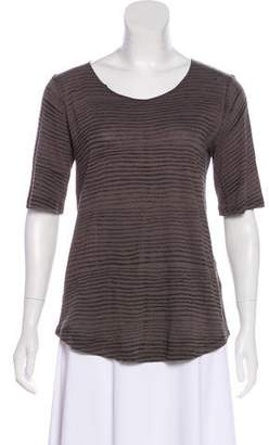 Raquel Allegra Short Sleeve Knit Top