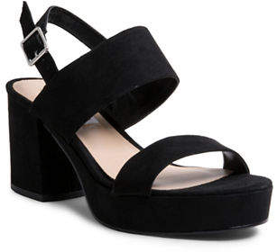 Steve Madden Open-Toe Block Heel Sandals
