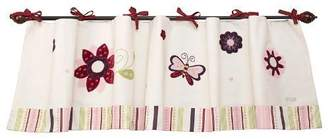 NoJo Mystic Garden Window Valance, Pink (Discontinued by Manufacturer) by
