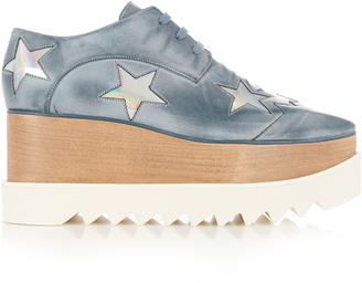 STELLA MCCARTNEY Elyse lace-up platform shoes $671 thestylecure.com