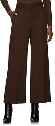 The Row Women's Ina Wool Wide-Leg Crop Trousers