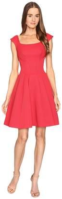 Zac Posen Sleeveless Ottman Fit and Flare Dress Women's Dress