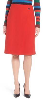 Women's Boss Vubali A-Line Skirt $385 thestylecure.com