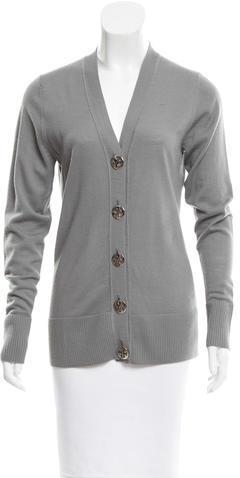Tory BurchTory Burch Wool Button-Up Cardigan