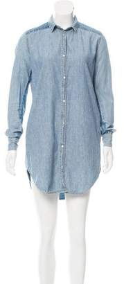 Acne Studios Chambray Shirtdress