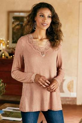 Soft Surroundings Masala Tee