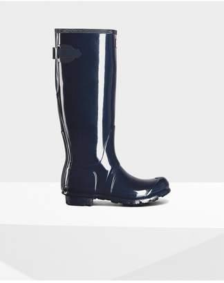 Hunter Womens Original Adjustable Gloss Rain Boots