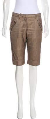 Just Cavalli Printed Knee-Length Shorts