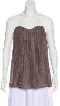 Missoni Strapless Silk Top