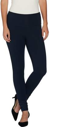 Women With Control Women with Control Petite Tummy Control Leggings with Stud Detail