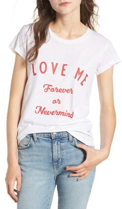 Women's Zadig & Voltaire Marriage Skinny Slub Bis Tee $98 thestylecure.com