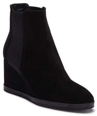 Aquatalia Jaelynn Suede Chelsea Wedge Boot