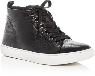 Kenneth Cole Kaleb Mid Top Sneakers $140 thestylecure.com