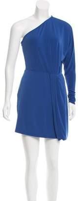 Rachel Zoe One-Sleeve Mini Dress