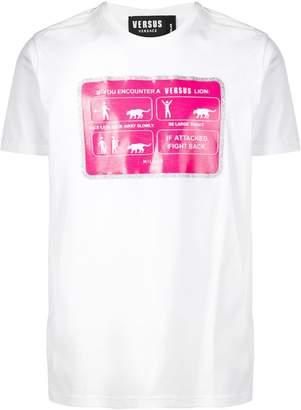 Versus printed logo T-shirt
