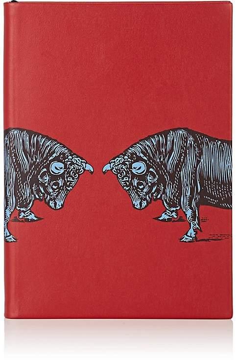 Bull-Motif Soho Notebook