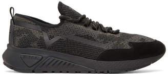 Diesel Black and Grey S-KBY Sneakers