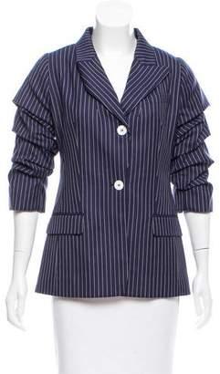 Michael Kors Pinstripe Wool Blazer