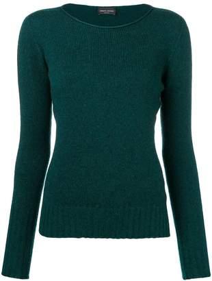 Roberto Collina slash neck sweater