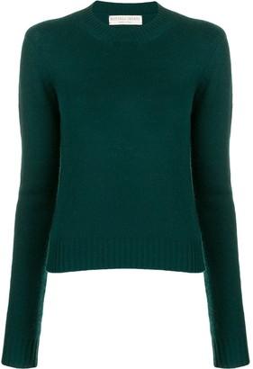 Bottega Veneta cropped knitted sweater