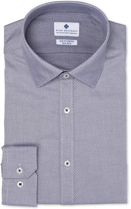 Ryan Seacrest Distinction Men's Ultimate Slim-Fit Non-Iron Performance Stretch Dobby Dress Shirt, Created for Macy's