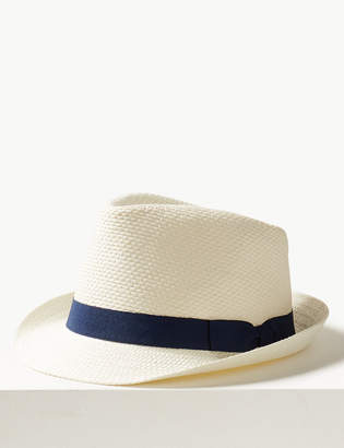 Marks and Spencer Hopsack Trilby Hat