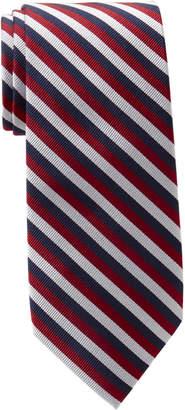 Tommy Hilfiger Pronounced Stripe Silk Tie