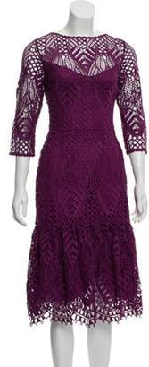 Temperley London Lace Midi Dress w/ Tags Violet Lace Midi Dress w/ Tags