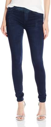 Big Star Women's Naomi Denim Legging Or Jegging with Faux Front Pocket and Elastic Waist